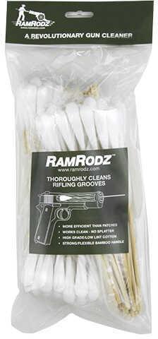 RAMRODZ Gun & Bbl Cotton SWABS .40/10MM 120 Pack
