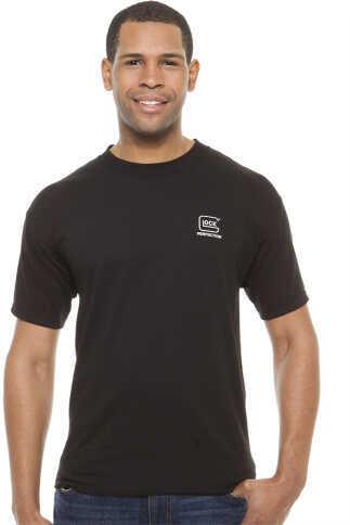 Glock AA11004 Short Sleeve Perfection T-Shirt Medium Cotton Black