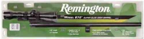 "Remington Barrels 24553 Special Purpose Shotgun Barrel with Scope 12 Gauge 23"" 3"" Remington 870 Steel Blued"
