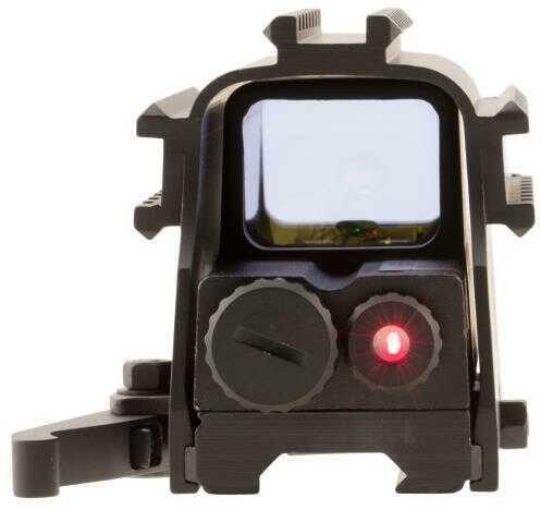 NCStar D3ARSGQLR2 Tri-Rail Unlimited Eye Relief 2 MOA Black
