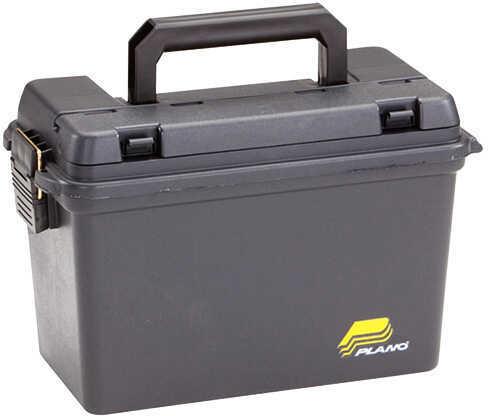 """Plano 161298 Deep Field Case W/O Waterproof Gasket 6 Boxes 3"""" Shells Plastic Blk"""