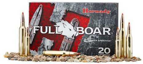 Hornady Full Boar 308 Winchester 165 Grain GMX 20/Bx (20 rounds Per Box)
