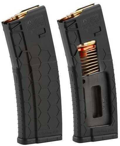 Hexmag HX10/30ARBLK Series 2 AR-15 Multi-Caliber 10 Round Composite Black Finish