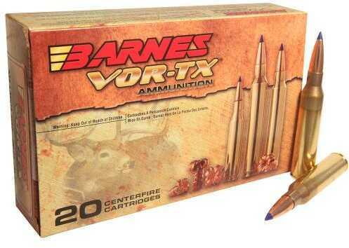 Barnes Bullets VOR-Tx 338 Lapua Magnum 280 Grains LRX Boat Tail Ammunition, 20 Rounds Per Box