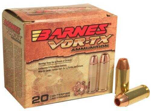 Barnes Bullets VOR-Tx 10mm 155 Grain XPB Hollow Point Lead-Free Ammunition, 20 Rounds Per Box