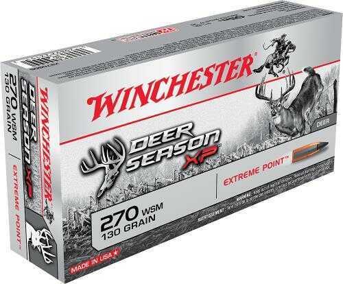 Winchester Deer Season XP 270WSM 130 Grain 20B