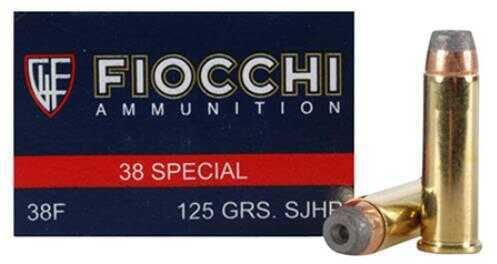 Fiocchi 38 Special 125 Grain CMJFP 50 Rounds 38ACMJ