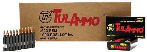 Tulammo TA223552 Rifle 223 Rem/5.56 NATO 55 GR Hollow Point (HP) 20 Box