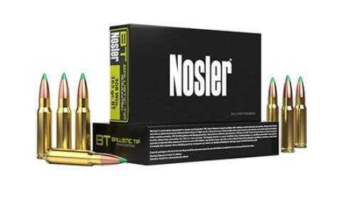 Nosler 30-06 Springfield 125 Grain Ballistic Tip (Per 20) Md: 40068