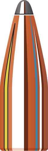 Hornady 22 Caliber Bullets .224 55 Grain SPSX Per 100 Md: 2260