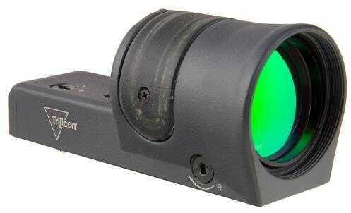 Trijicon 1X42mm Reflex Amber 4.5 MOA Dot Reticle, Cerakote Green Md: Rx34-C-800112