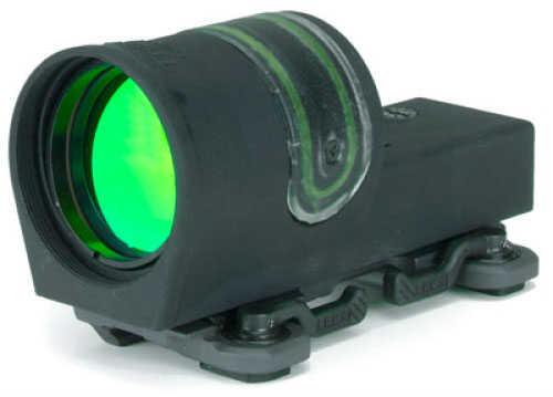 Trijicon Reflex II Sight 6.5 MOA Amber Dot - Arms #15 Throw Lever Mount Dual-Illumination (Tritium & Fiber Optics) - Tru