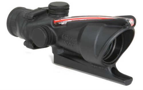Trijicon ACOG 4X32mm M16/AR15 Red Dual Illumination Donut -BAC For Both-eyes-Open useTritium & Fiber Optics- Parallax