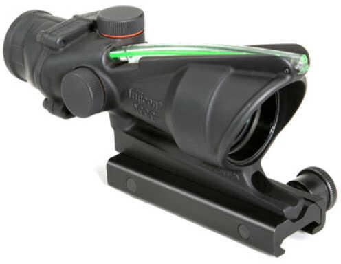 Trijicon ACOG 4X32mm Green Chevron Flattop Reticle -BAC For Both-eyes-Open Use - Flattop Mount, Scopecoat & Pelican Case