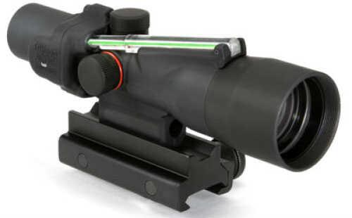 Trijicon ACOG Rifle Scope 3X 30 Green Chevron .223 Flattop Matte Ta60 Mount Dual Illuminated Ta33G-8