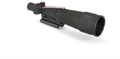 Trijicon ACOG 5.5X50mm .223 Flattop Red Chevron - BAC For Both-eyes-Open Use - Flattop Mount Tritium & Fiber Optics -