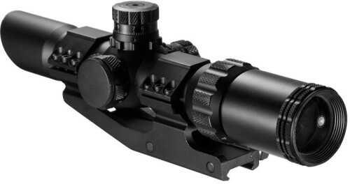 SWAT Scope 1-4X28mm, 30mm Tube, IR Glass, Mil-Dot Reticle Md: AC11872