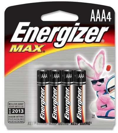 Premium Max Batteries AAA Per 4 Md: E92BP-4