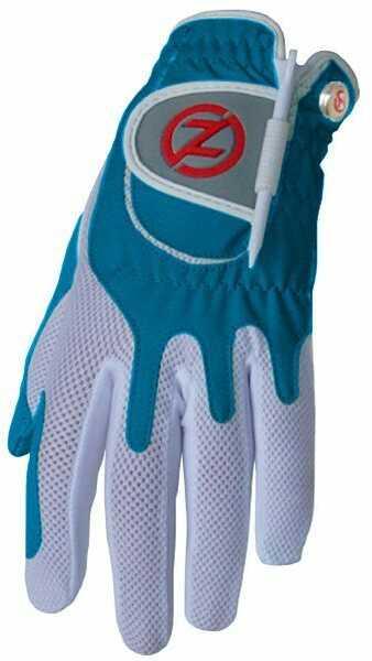 Zero Friction Performance Women's Golf Glove Left Hand Blue