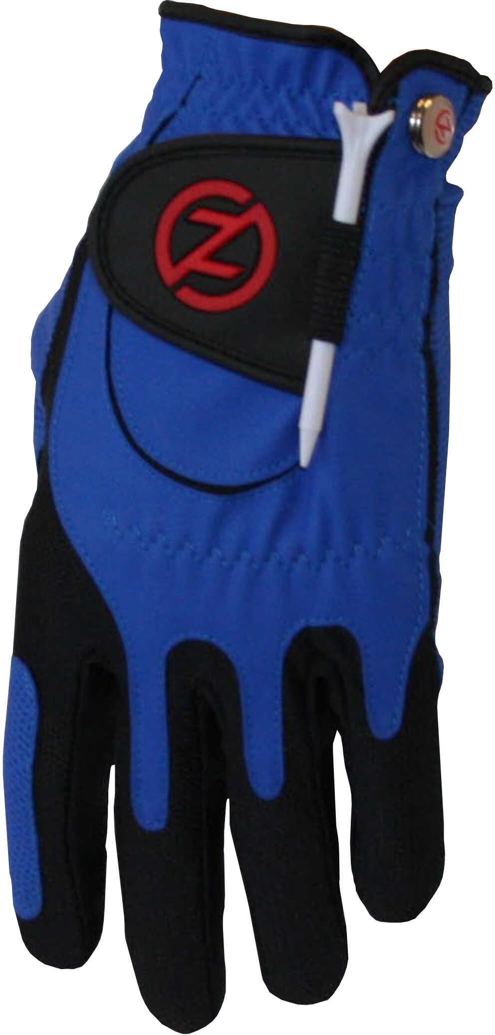 Zero Friction Jr. Compression Golf Glove Blue (LH)