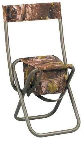 Hunter Specialties Dove Stool Folding W/Back Realtree XTRA Green