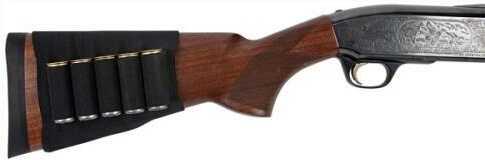 Allen Shotgun Stock Sleeve Shell Carrier Black Nylon