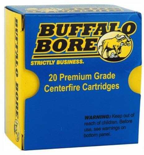 Buffalo Bore Ammo 38 Special +P 158 Grain Lead SWC-HP 20-Pack