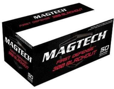 Magtech First Defense 300 Blackout 123 Grain Full Metal Jacket 50 Round Box 300BLKB