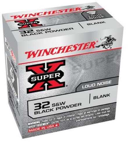 Winchester Ammo Super-X 32 S&W Black Powder BLANKS 50-Pack