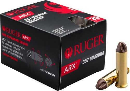 Ruger 357MAGARXRUG ARX 357 Magnum 86 Gr ARX 20 Bx/ 10 Cs, 357 Mag Pistol Ammunition | LG ...