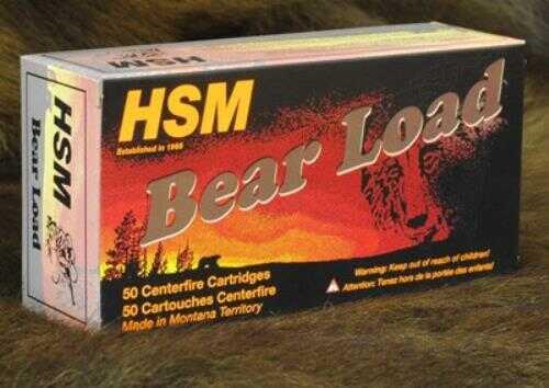 HSM Bear Ammo 500 S&W 440 Grain LBT-WFN Gas Check 20-Pack