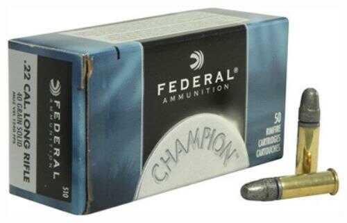 Federal Ammo 22LR Lighting Solid 1240Fps 40 Grain 50Pk