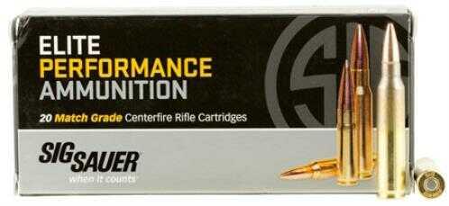 Sig Sauer Elite Performance Ammunition .223 Remington, 77 Grains, Open Tip Match, Per 20