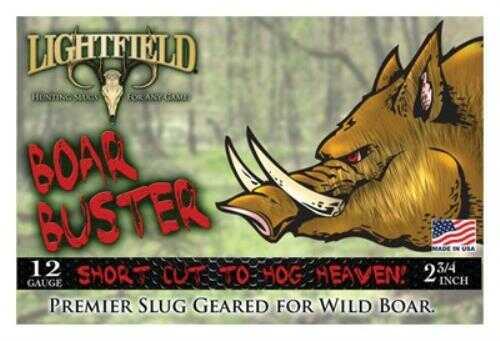 Lightfield AmmoLightfield Boar Buster 12Ga 2.75'' 465Gr Sabot Slug 5/Bx