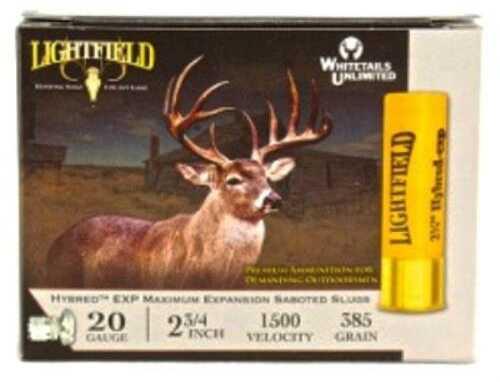 Lightfield AmmoLIGHTFIELD Slugs 20Ga 2.75