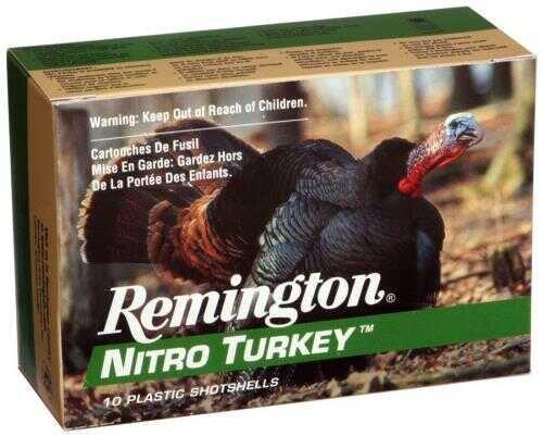 "Remington Ammo Nitro-Turkey 10-Pack 12 Gauge 3.5"" 1300Fps. 2Oz. #4"