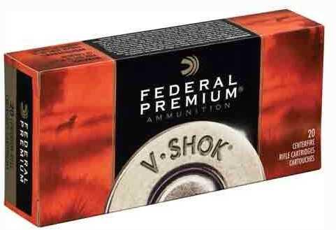 Federal Ammo Premium 222 Rem 40 Grain Nosler BTip 20-Pack
