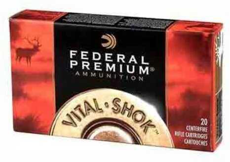 Federal Ammo Premium 375 H&H Mag 300 Grain Nosler Partition 20-Pk