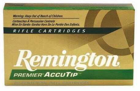Remington Ammo Premier 222 Remington 50 Grain Accu-Tip BT 20-Pack