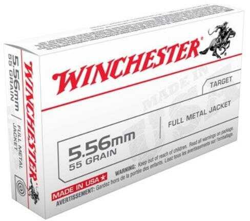 Winchester 223 Remington 55 Grain Full Metal Jacket Ammunition Md: Q3131