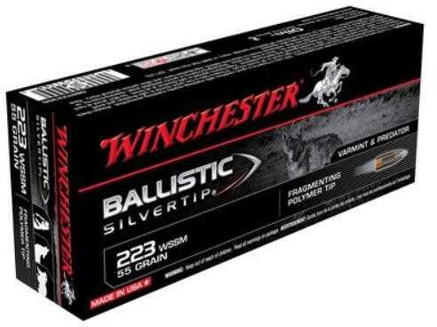 WinchesterWinchester SUP 223 WSSM 55 Grain BAL STIP 20BX
