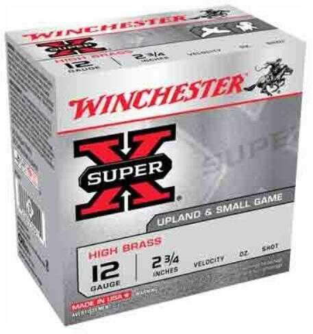 """Win Ammo Super-X 12 Gauge 2.75"""" 1330Fps. 1-1/4Oz. #8 25-Pack"""