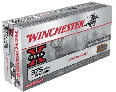 375 Winchester 200 Grain Powerpoint Md: X375W