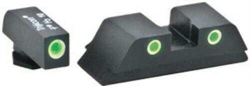 AMERIGLO Tritium Classic Set Green/Green Glock 42/43