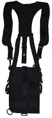 "Grovtec US Inc GTHL14905R Trail Pack Shoulder 4-5"" Lg Auto 1000 Denier Nylon Black"