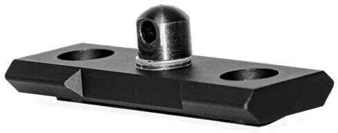 "GROVTEC Bipod Stud Mt M-LOK 2.3"" Aluminum Black"