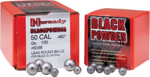 Hornady .350 .36 Caliber Round Ball 100-Count