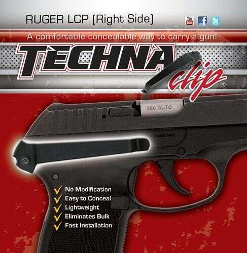 TECHNA CLIP BELT CLIP RUGER LCP RS