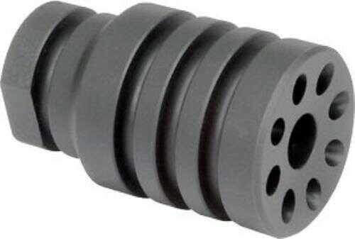 "Midwest Industries MIPBD AR-15 223 Rem/5.56 NATO Blast Diverter 1/2""-28 tpi Black Phosphate Steel"