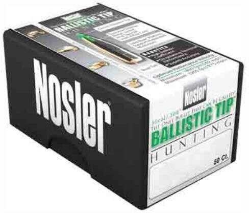 Nosler Bullets 30 Caliber .308 125 Grains Ballistic Tip 50CT